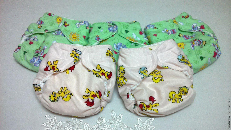 Многоразовые подгузники для новорожденных