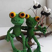 Куклы и игрушки ручной работы. Ярмарка Мастеров - ручная работа Жизнь удалась, или История одной лягушки. Handmade.