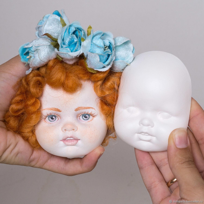 Куклы и игрушки ручной работы. Ярмарка Мастеров - ручная работа. Купить Кукольная заготовка TeddyDoll#8. Handmade. Бежевый, кукольное лицо