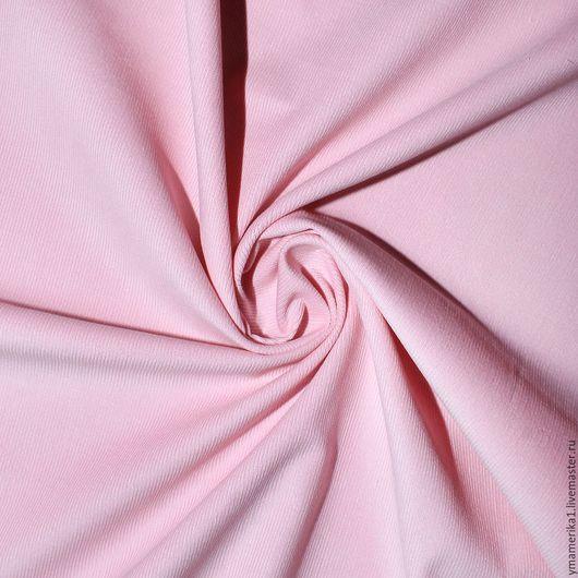 Шитье ручной работы. Ярмарка Мастеров - ручная работа. Купить Американский хлопок-вельвет  однотонный бледно-розовый. Handmade.