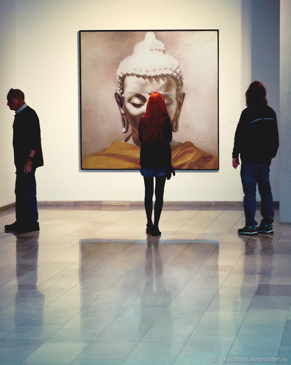 """Картина """"Будда"""" для лофт интерьера. 50х50см, Картины, Санкт-Петербург,  Фото №1"""