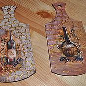 Для дома и интерьера ручной работы. Ярмарка Мастеров - ручная работа Досочки декоротивные. Handmade.