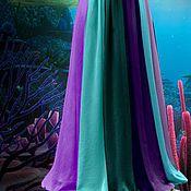 """Одежда ручной работы. Ярмарка Мастеров - ручная работа Эффектная юбка в пол """"Королева моря"""". Handmade."""