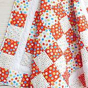 Для дома и интерьера handmade. Livemaster - original item Children`s patchwork quilt KALINKA-MALINKA. Handmade.