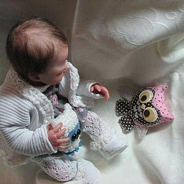Куклы и игрушки ручной работы. Ярмарка Мастеров - ручная работа Куклы:Малыш 23 см реалистичный в технике МИНИ реборн. Handmade.