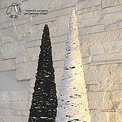 """Для дома и интерьера ручной работы. Ярмарка Мастеров - ручная работа Интерьерное украшение светильник """"Черное и белое"""". Handmade."""