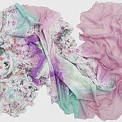 Аксессуары ручной работы. Ярмарка Мастеров - ручная работа Валяный шарф Весна в Италии. Handmade.