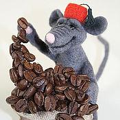 Куклы и игрушки ручной работы. Ярмарка Мастеров - ручная работа кофеман. Handmade.