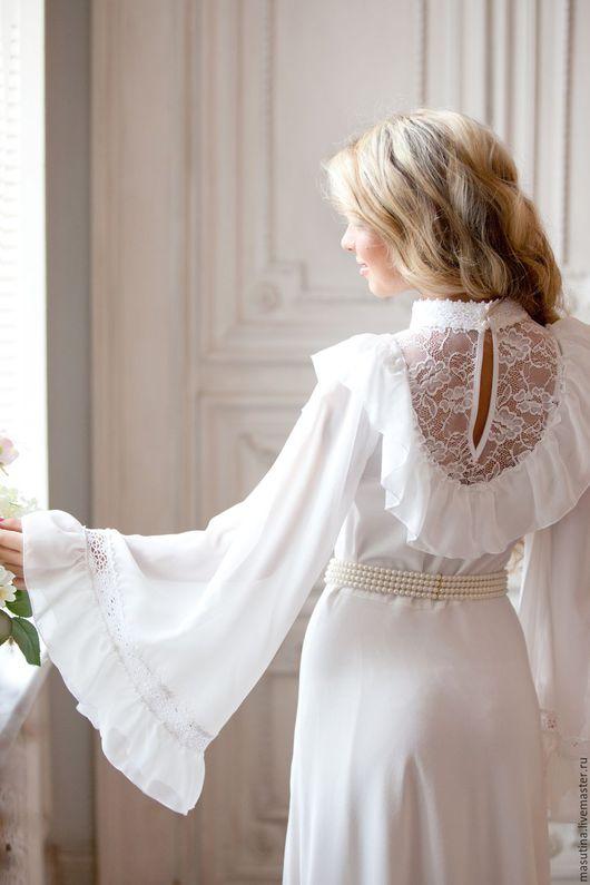 """Платья ручной работы. Ярмарка Мастеров - ручная работа. Купить Платье """"Belissima"""". Handmade. Белый, платье на выход"""