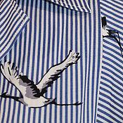 Одежда handmade. Livemaster - original item Dress buttoned viscose