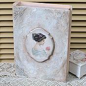 Для дома и интерьера ручной работы. Ярмарка Мастеров - ручная работа Шкатулка-книга Моя прекрасная леди. Handmade.
