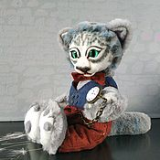Для дома и интерьера handmade. Livemaster - original item Cat Scientist. Handmade.
