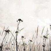 Картины и панно ручной работы. Ярмарка Мастеров - ручная работа Осень. Травы #4. Handmade.