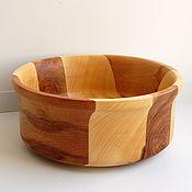 Посуда ручной работы. Ярмарка Мастеров - ручная работа Деревянное блюдо. Handmade.