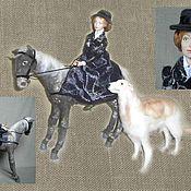 Куклы и игрушки ручной работы. Ярмарка Мастеров - ручная работа «Прогулка в Овстуге». Handmade.