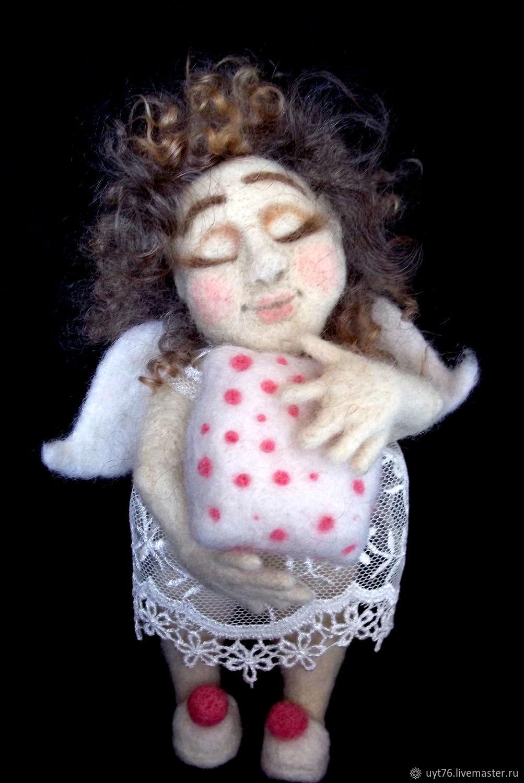 Interior toy Angel 'Kamushka', Stuffed Toys, Yaroslavl,  Фото №1