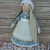 Куклы и игрушки ручной работы. Ярмарка Мастеров - ручная работа Игровой заяц (кролик)в стиле Тильда (игрушка для девочки).. Handmade.
