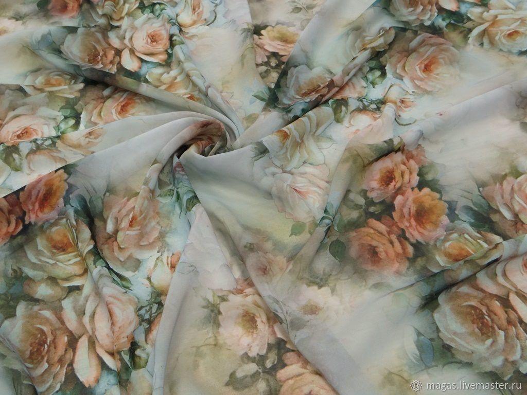 Fabrics: ROSE CHIFFON-GERMANY, Fabric, Moscow,  Фото №1