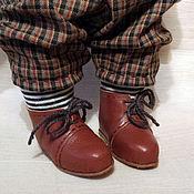Материалы для творчества ручной работы. Ярмарка Мастеров - ручная работа Обувь для куклы фото мастер класс PDF+выкройка со скидкой. Handmade.