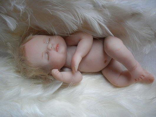 Куклы-младенцы и reborn ручной работы. Ярмарка Мастеров - ручная работа. Купить Ангельский сон. Handmade. Перья