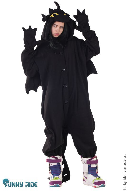 Карнавальные костюмы ручной работы. Ярмарка Мастеров - ручная работа. Купить  Костюм кигуруми Дракон Беззубик ... 8f35c1d46710b