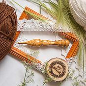 Материалы для творчества handmade. Livemaster - original item Crochet hook 4#22. Handmade.