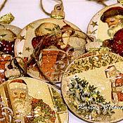 Подарки к праздникам ручной работы. Ярмарка Мастеров - ручная работа Елочные украшения. Handmade.