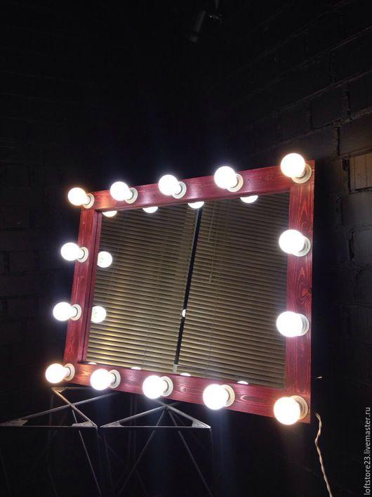 Зеркала ручной работы. Ярмарка Мастеров - ручная работа. Купить Гримерное зеркало CABERNE.. Handmade. Гримерное зеркало, косметическое зеркало