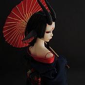 Куклы и игрушки ручной работы. Ярмарка Мастеров - ручная работа Шарнирная кукла Цубаки. Handmade.