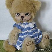 Куклы и игрушки handmade. Livemaster - original item Kitten Teddy Nicole.. Handmade.