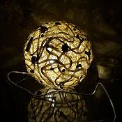 """Для дома и интерьера ручной работы. Ярмарка Мастеров - ручная работа Светильник-ночник ручной работы """"Эко стиль"""" декор дома. Handmade."""