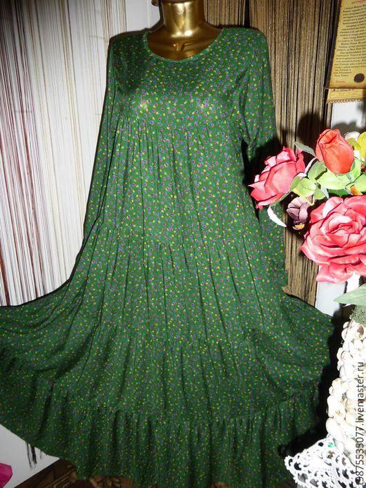 Фото платья ярусами