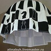 Для дома и интерьера ручной работы. Ярмарка Мастеров - ручная работа Абажур для гостинной шахматного клуба. Handmade.