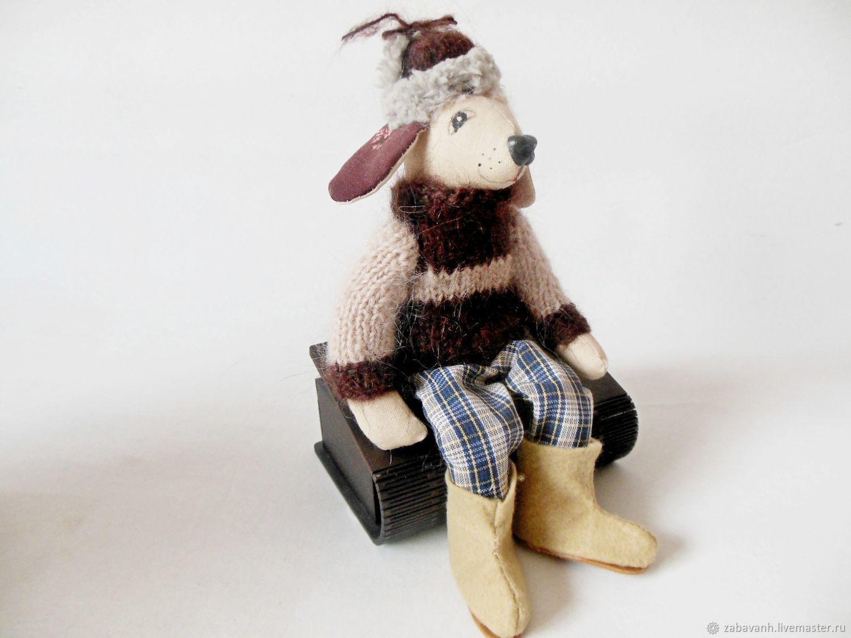 Мягкая игрушка пёс Фёдор, Мягкие игрушки, Нолинск,  Фото №1