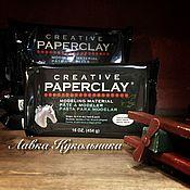 Материалы для творчества ручной работы. Ярмарка Мастеров - ручная работа Paperclay(Паперклей)-самоотвердевающая глина. Handmade.