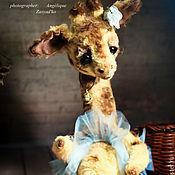 Жирафа Алисия (тедди)