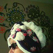 Аксессуары ручной работы. Ярмарка Мастеров - ручная работа зимняя шапочка. Handmade.