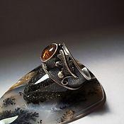 Украшения handmade. Livemaster - original item tourmaline ring dubok