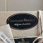 Дизайн и реклама handmade. Livemaster - original item Corporate identity for Morsyaze Chocolatier. Handmade.