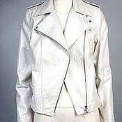 Одежда handmade. Livemaster - original item Jacket jacket mother of pearl leather. Handmade.