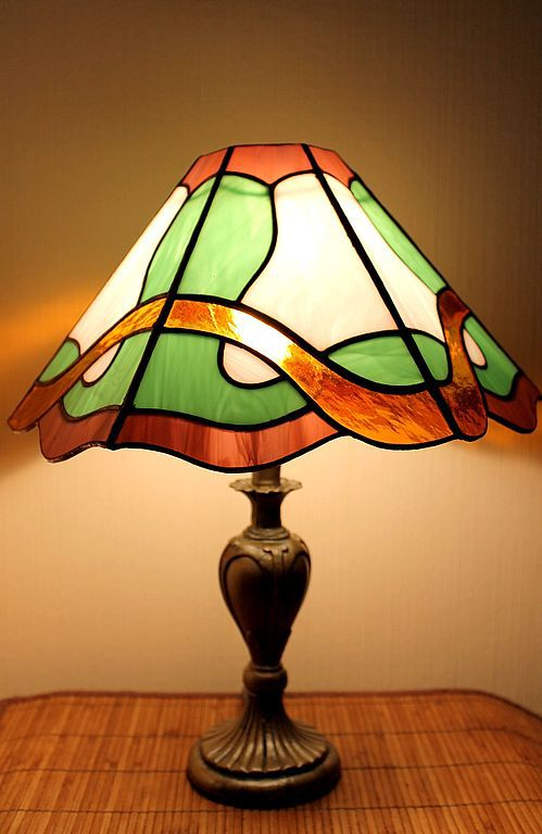 Stained Glass Lamp Spring Waltz, Table lamps, St. Petersburg,  Фото №1