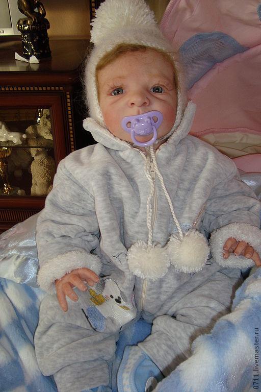 Куклы-младенцы и reborn ручной работы. Ярмарка Мастеров - ручная работа. Купить Эмик кукла-реборн из лимитированного молдика. Handmade.