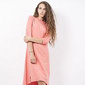 """Одежда ручной работы. Ярмарка Мастеров - ручная работа Платье """" пастель"""" персиковое. Handmade."""