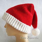 Аксессуары handmade. Livemaster - original item Cap Christmas. Handmade.