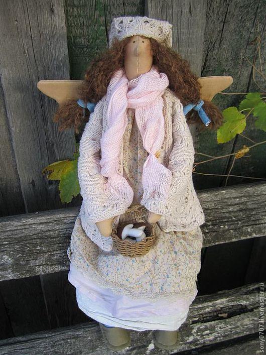 Коллекционные куклы ручной работы. Ярмарка Мастеров - ручная работа. Купить Тася. Феечка в стиле БОХО. Handmade. Бохо, осень