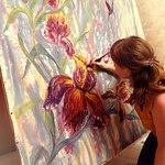 Анастасия Кияткина (роспись ткани) - Ярмарка Мастеров - ручная работа, handmade