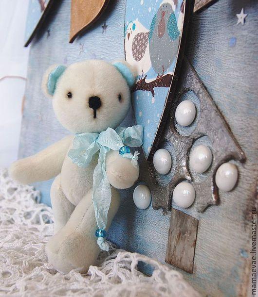 Мишки Тедди ручной работы. Ярмарка Мастеров - ручная работа. Купить Белый мишка. Handmade. Белый, игрушка ручной работы