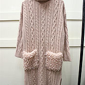 Одежда handmade. Livemaster - original item Dress pure cashmere. Handmade.
