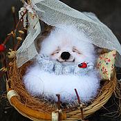 Куклы и игрушки ручной работы. Ярмарка Мастеров - ручная работа Ёжик Митюша. Handmade.