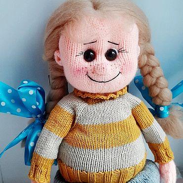 Куклы и игрушки ручной работы. Ярмарка Мастеров - ручная работа Куколка Конопушка. Handmade.